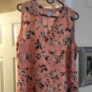 Junerose sleeveless blouse